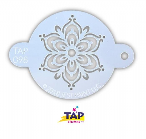 098 TAP Full Henna Fancy Flower